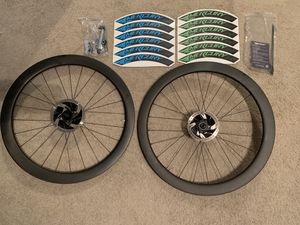Mercury Cycling M50 Disc Race Edition Carbon wheelset for Sale in Redlands, CA