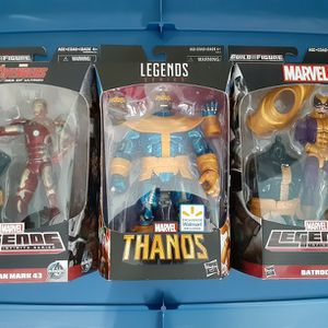 Marvel Legends Thanos (Comic) BAF Wave for Sale in San Diego, CA