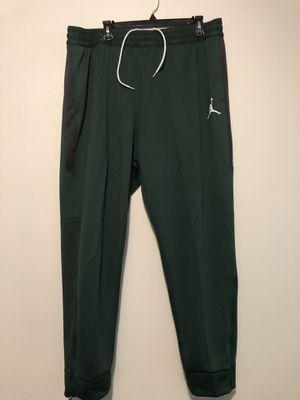 Nike Air Jordan Dri Fit Joggers Green Grey White 924709-341 Men's Size 3XL-Tall for Sale in Wichita, KS