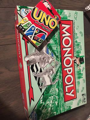 Monopoly and UNO for Sale in McLean, VA
