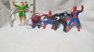 Marvel Super Heroes spider man Bendable Bend 'Ems Figure Just Toys 1990 for Sale in Los Angeles, CA