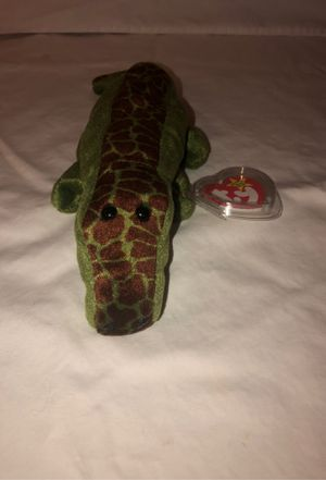 Allie the alligator beanie baby from 1993 for Sale in Renton, WA