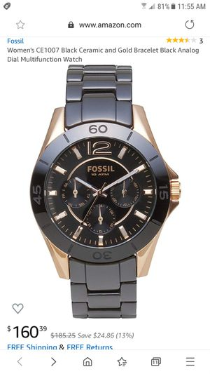 Fossil women watch $70 for Sale in Shoreview, MN