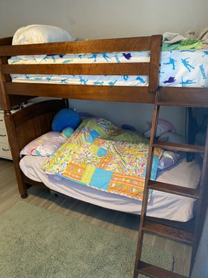Solid Wood Twin Bunk Bed for Sale in Ladson, SC