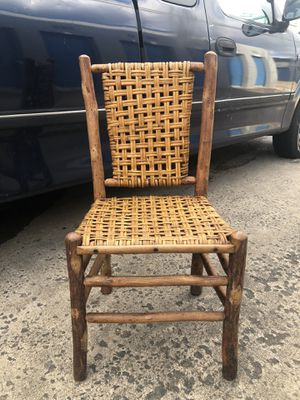 Ratten wood antique chair for Sale in Bryans Road, MD