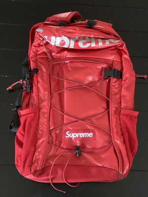 Red Supreme Fw17 Backpack for Sale in Silver Spring, MD