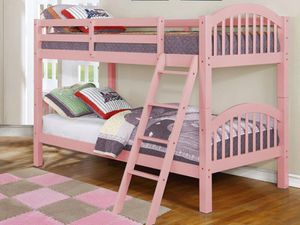 Pink Twin/Twin Bunkbed *BRAND NEW* for Sale in Silver Spring, MD