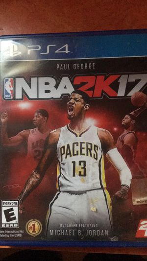 PS4 nba 2017 for Sale in Williamsport, PA
