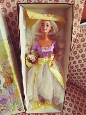 Spring Blossom Barbie doll new in box for Sale in Westgate, NY