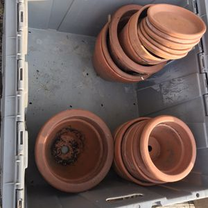 Bundle Of Ceramic Flower Pots for Sale in Gloucester, MA