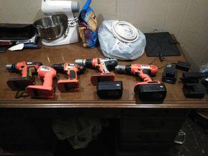 Black n decker drills for Sale in Fayetteville, AR