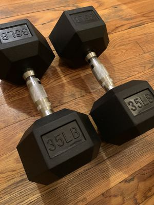 Brand NEW 35lb Dumbbell Set (70lb total) for Sale in Brookline, MA
