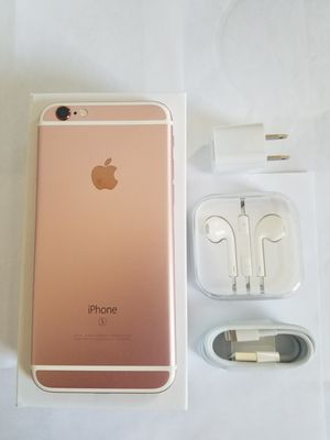 iPhone 6 S , UNLOCKED for All Company Carrier ,  Excellent Condition like New for Sale in Springfield, VA