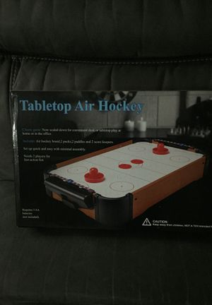 Tabletop Air Hockey for Sale in Euless, TX