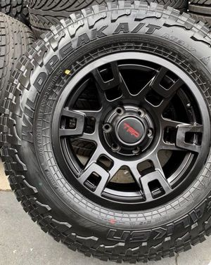 """17"""" TRD Replica Wheels Package Package Includes Rims & Tires • Wheels Size 6x139 • TirePackage Deals From $1299 for Sale in Huntington Beach, CA"""