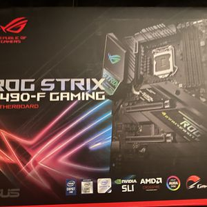Asus ROG Strix Z490-F Gaming Motherboard for Sale in Wantagh, NY