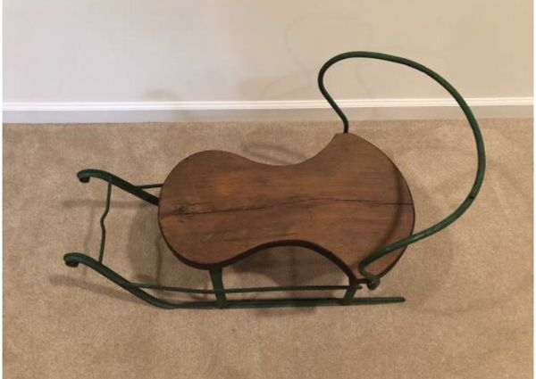 Antique Child's Sled