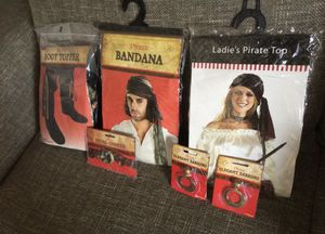 Pirate Costume Set for Sale in Hialeah, FL
