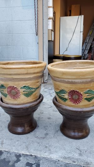 Flower Pots for Sale in Los Angeles, CA