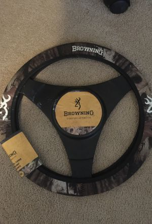 Browning steering wheel cover for Sale in Dublin, GA