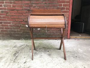 Late Victorian child's roll top desk for Sale in Baltimore, MD