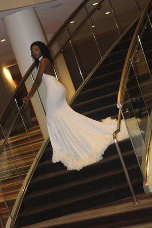 White Prom Dress for Sale in Stone Mountain, GA
