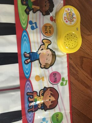 Kids musical step on piano for Sale in Fairfax, VA