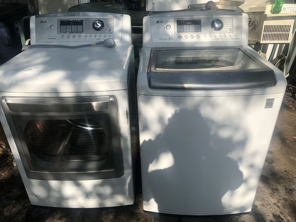 LG Washer and dryer work good