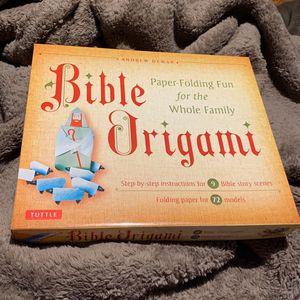 BIBLE ORIGAMI KIT for Sale in Glendale, CA