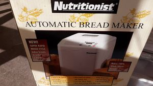 Nutritionist automatic bread maker brand new for Sale in Mesa, AZ