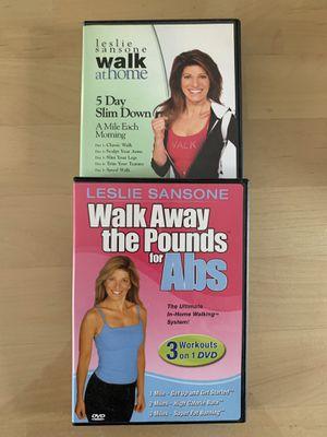 "Leslie Sansone ""walk away the pounds"" DVD's for Sale in Trenton, NJ"