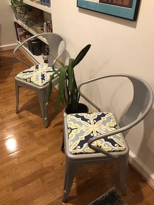 Pair of bistro chairs for Sale in Washington, DC