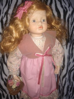 Antique Porcelain Doll for Sale in Tumwater, WA