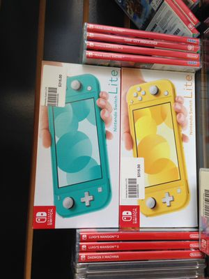 Nintendo switch lite for Sale in Anaheim, CA