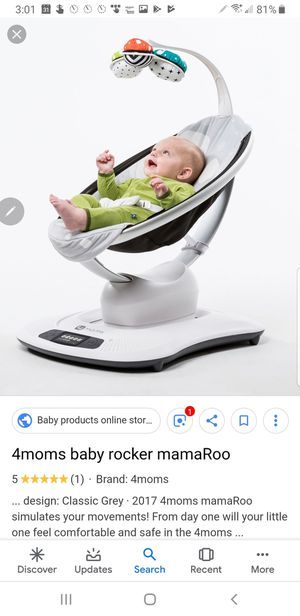 4moms mamaroo baby swing rocker like new for Sale in Spring Valley, CA