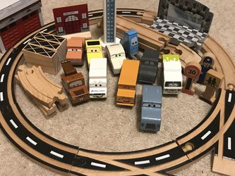 Disney Cars Wooden Road Set for Sale in Battle Ground,  WA