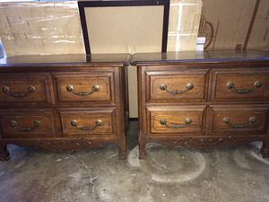 Dresser drawers brown wood for Sale in Anaheim, CA