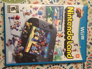 Nintendo Wii U Nintendo land video game for Sale in Pottsville, PA