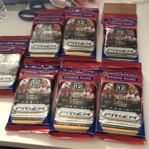 2020 NFL Prizm Cello Pack Red, White & Blue for Sale in Cheshire, CT