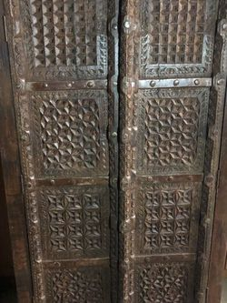 Antique Handmade Rustic Wooden Cupboard / Dresser for Sale in New York,  NY