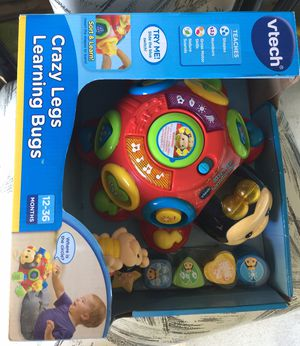Crazy legs learning bugs.. unopened for Sale in Richmond, VA