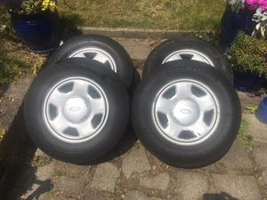 Ford Escape Stock Wheels/Rims and Tires P215/70R15 for Sale in Seattle, WA