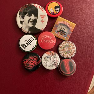 Lot Of Beatles Led Zeppelin Pink Floyd Rock Pins for Sale in Hillsboro, OR