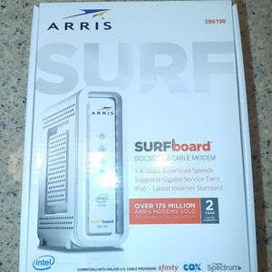 Arris SB6190 Surfboard Cable Modem 32x8 for Sale in Murrieta, CA