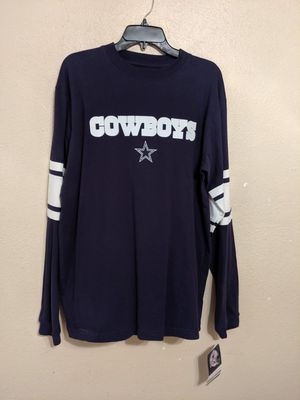 COWBOYS LONG SLEVES SHIRT MEDIUM SIZE FOR MAN for Sale in Fort Worth, TX