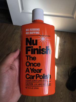 NU FINISH polish for Sale in Sacramento, CA