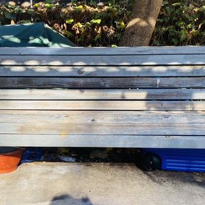 Large Wooden Park Bench for Sale in Los Angeles, CA