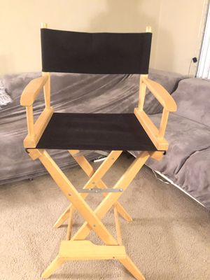 Folding makeup chair for Sale in Bensalem, PA