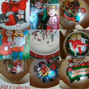 Lot of Christmas Decorations, Campbell's Collector Ornaments for Sale in Joliet, IL