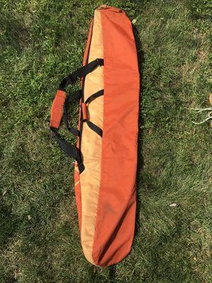 Orange Burton snowboard travel bag for Sale in Westport, CT